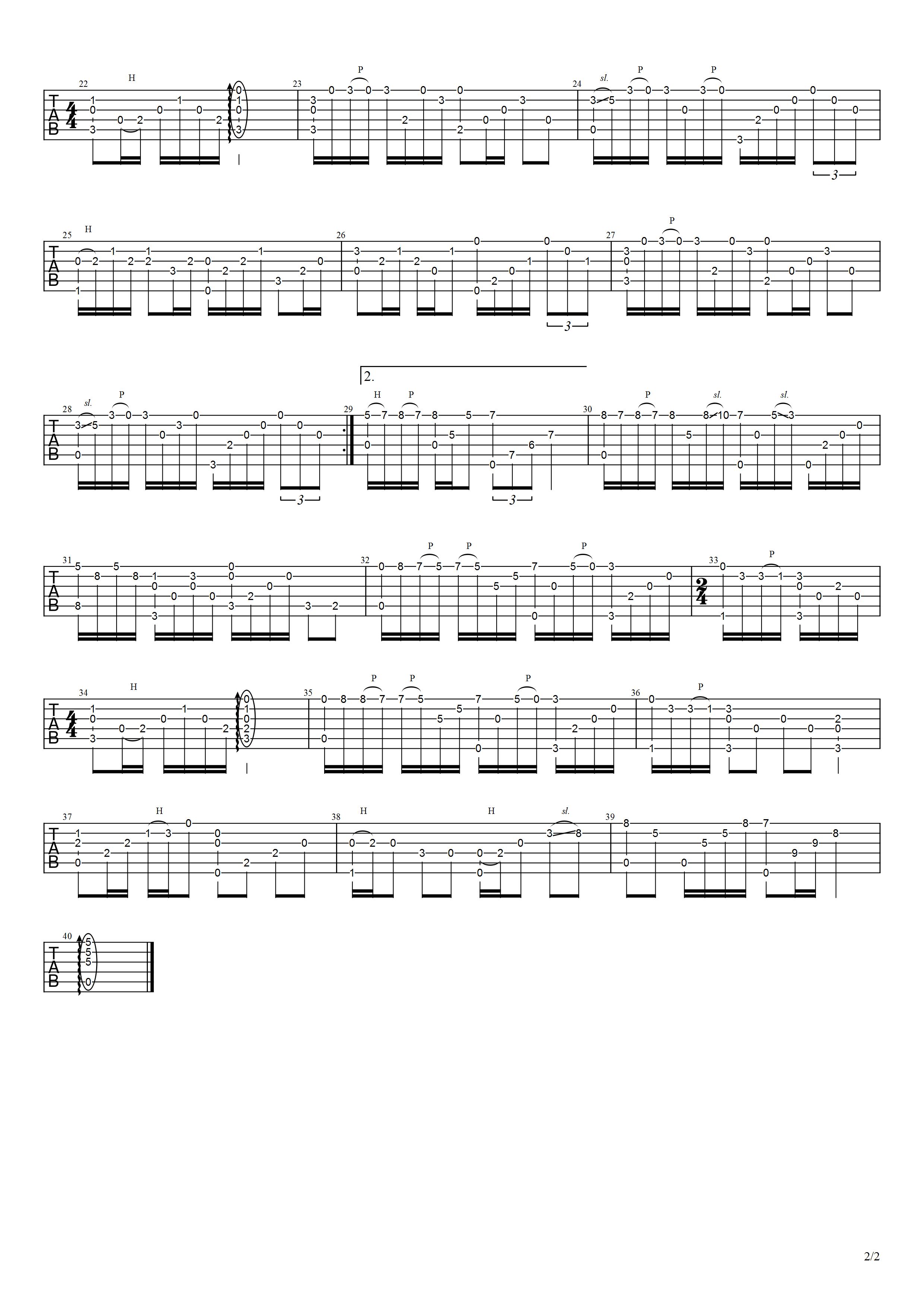 《像我这样的人》吉他谱-2