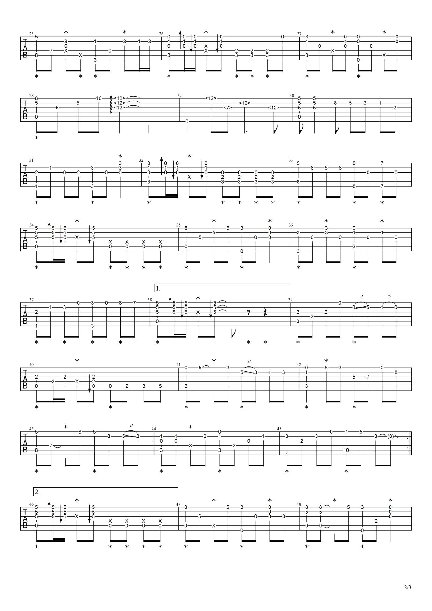 吉他派《我的中国心》-2