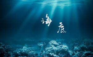 一只榴莲《海底》吉他谱_G调版高清弹唱六线谱_无限延音