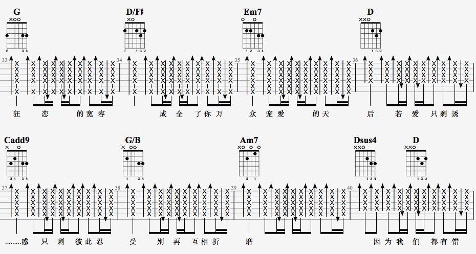 吉他派天后吉他谱进阶版-5