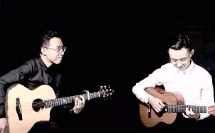 《江南》吉他指弹演绎版,民谣与古典的完美展现