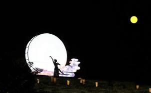 《月亮代表我的心》吉他谱_吉他弹唱视频教程_C调入门吉他谱