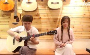 毛不易《不染》 吉他弹唱By 清纯小姐姐,回眸一笑心动的信号