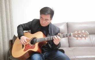 郑智化《星星点灯》吉他谱_吉他指弹视频演示_指弹六线谱
