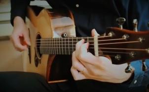 隔壁老樊《多想在平庸的生活拥抱你》泛音指弹演奏视频