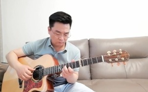 《江湖路》吉他指弹谱-吉他指弹改编视频-《莲花争霸》主题曲