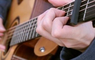 《加勒比海盗》吉他谱_简单版指弹谱_指弹演示示范