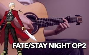 Brave Shine吉他谱_《Fate/stay nightUBW》第二季OP_吉他指弹独奏谱